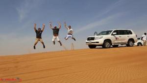 land cruiser desert safari